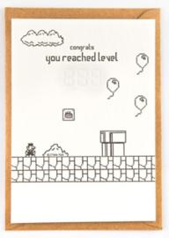 """Studio Flash • kaart """"level up"""""""