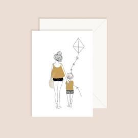 My Lovely Thing • kaart 'walk boy'