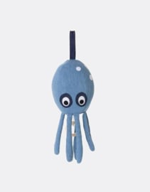 Ferm Living • music mobile octopus (denim)