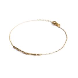 Muja Juma • armband sliertje | verguld (2029)