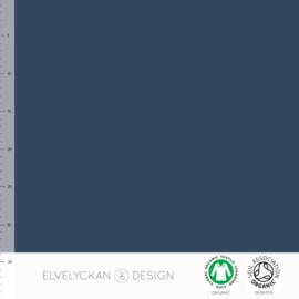 Elvelyckan Design • ribstof dark blue