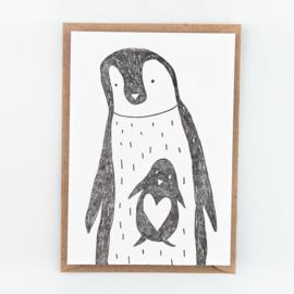"Studio Flash • kaart ""pinguins"""