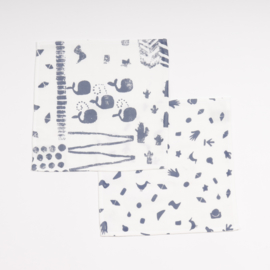Boro*Mini • monddoekjes (2-pack)