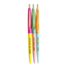 ZZZ Studio Stationary • very fun ballpen set (3 st.)