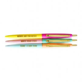 • Losse pen: cactus (fine liner) of very fun ball pen