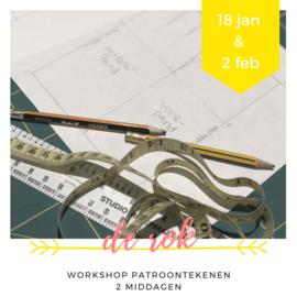 Workshop • patroontekenen  • de rok