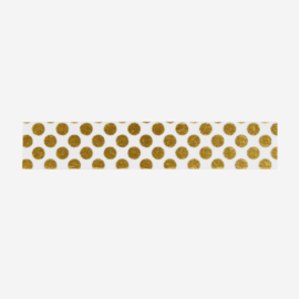 Madam Stoltz • masking tape 'gouden stippen'