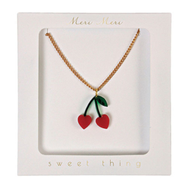 Meri Meri • necklace cherry
