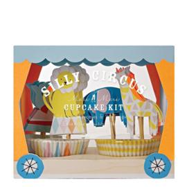 Meri Meri • cupcake kit silly circus