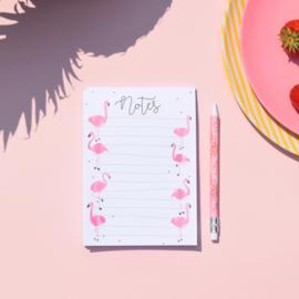 ZZZ MIEKinvorm • notitieblok flamingo (A6)