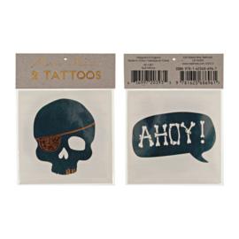 Meri Meri • tattoos skull