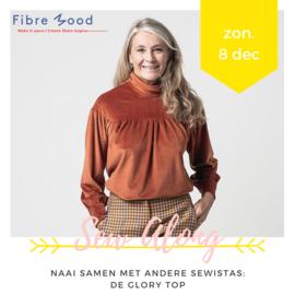 Naaiworkshop • Fibre Mood 'Sew Along' (#Glory blouse)