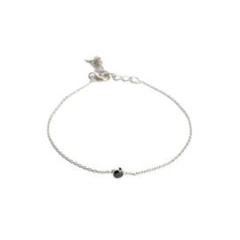Muja Juma • armband kleine onyx | zilver (663)