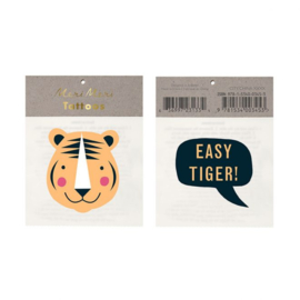 Meri Meri • tattoos easy tiger