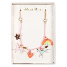 Meri Meri • necklace unicorn enamel