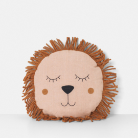 Ferm Living • safari cushion lion | rose