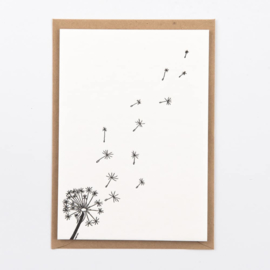 "Studio Flash • kaart ""dandelion"""