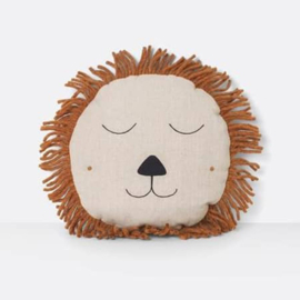 Ferm Living • safari cushion lion | natural