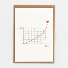 "Studio Flash • kaart ""love ... time 