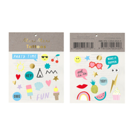Meri Meri • tattoos assorted jazzy