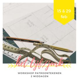 Workshop • patroontekenen  • het bovenlijf/jurk