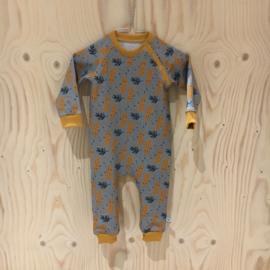 Uit eigen atelier • babypakje panter (0 t/m 1 jaar)