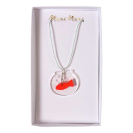 Meri Meri • necklace fish bowl