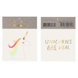 Meri Meri • tattoos unicorns are real