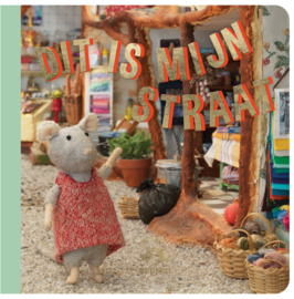 Het Muizenhuis • kartonboekje 'Dit is mijn straat'