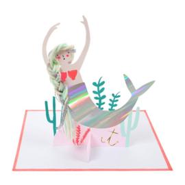 """Meri Meri • kaart """"mermaid scene"""""""