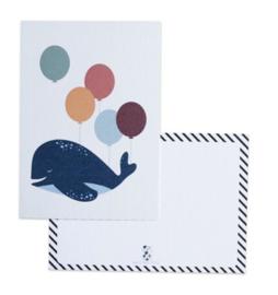 Bystudio Steef • kaart 'walvis'
