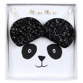 ZZZ Meri Meri • hair clips panda ears