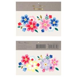 Meri Meri • tattoos kashmiri flowers