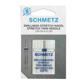 Tool • Schmetz (130/705 H-S; 2,5/75) stretch twin naald
