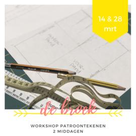 Workshop • patroontekenen  • de broek