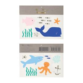 Meri Meri • tattoos undersea