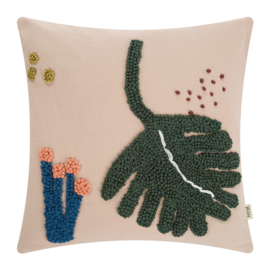 Ferm Living • cushion leaf