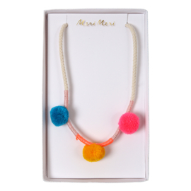 Meri Meri • necklace pompom
