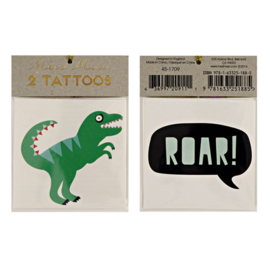 Meri Meri • tattoos roar