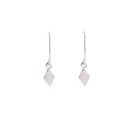 Muja Juma • oorbellen ruitje | zilver (1001)