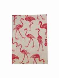 Return to Sender • notitieboekje flamingo's (A6)