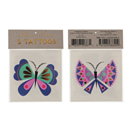 Meri Meri • tattoos butterfly