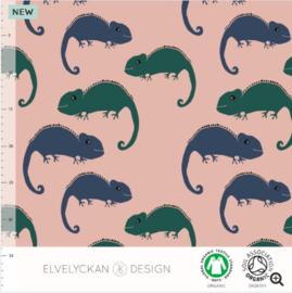 Stof • Elvelyckan Design • cameleon - dark blue (jersey)