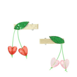 Meri Meri • hair clips cherry bead