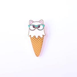 Studio Inktvis • pin poes ijsje