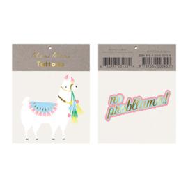 Meri Meri • tattoos llama