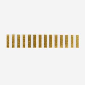 Madam Stoltz • masking tape 'gouden strepen'