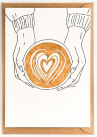 "Studio Flash • kaart ""coffee love"""
