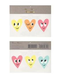 Meri Meri • tattoos happy hearts
