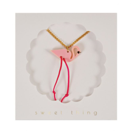 Meri Meri • necklace flamingo